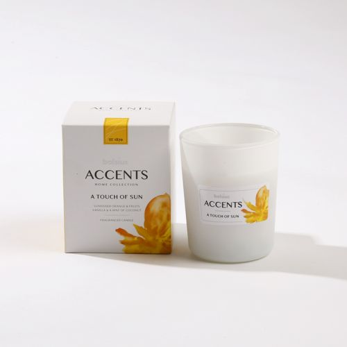 Luxe scented kaars - A Touch of Sun