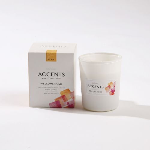 Luxe scented kaars - Welcome Home